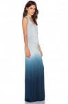 New Women's Sleeveless Cotton Long Maxi Dress