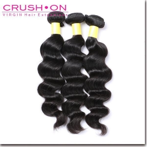 China Indian Virgin Hair Loose Wave 3 pc/lot on sale