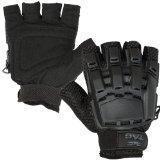 China Valken V-TAC Half Finger Plastic Back Airsoft Gloves on sale