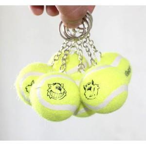China Tennis ball keychain on sale