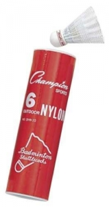 China Champion Nylon Outdoor Shuttlecock on sale