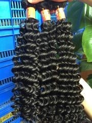China Indian hair Deep wave 3PCS/lots on sale