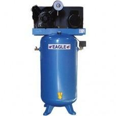 China Eagle 5-HP 80-Gallon Dual-Voltage Two-Stage Air Compressor on sale