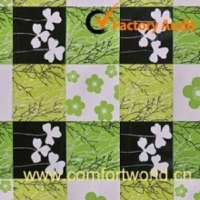 PVC Table cloth With Flannel Back