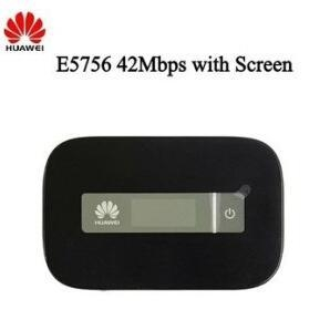 China Huawei E5756 4G Wireless Mobile WiFi Router on sale