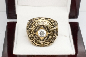 China 1962 New York Yankees World Series Championship Ring 6.5 on sale