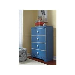 China B045-53 Ashley Furniture Bronilly - Blue Twin Panel Bed on sale