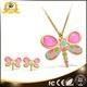 China China Market Dragonfly High Quality Costume gold Jewelry Sets on sale