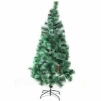 China artificial snowing christmas tree on sale