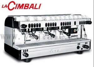 China LA CIMBALI M29 SELECTRON double professional semi-automatic coffee machine on sale