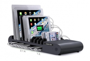 China Ugreen 96W/12V 8A 10 Ports USB Desktop Charger with 10 slots on sale