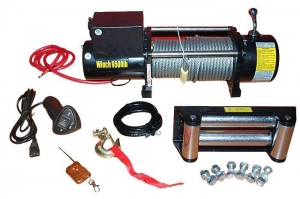 China 4X4 Off-road Electric Recovery Winch for Car on sale