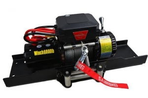 China Worm Gear Winch, Durable Surface Finish on sale