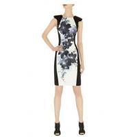 Oversize Oriental Print Dress DQ257
