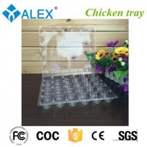 China Plastic chicken egg tray for place eggs on sale
