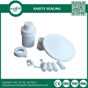 China White CNC PTFE Machining Parts Of Ptfe Tube Ptfe Gaskets PTFE Sheet on sale