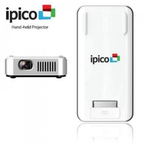 China General Imaging PJ205 iPico Hand-held Projector for iPhone or iPod Touch - OPEN BOX on sale