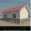 China prefabricated steel structure/ house villa for sale