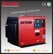 China portable silent diesel generator with ATS on sale