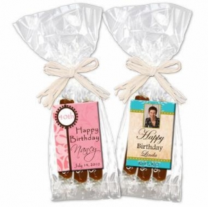 China Candy Birthday Favors - Personalized Caramels on sale