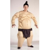 China Sumo Wrestler Fat Suit Adult Costume on sale