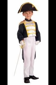 China American Colonial General Costume for Children on sale