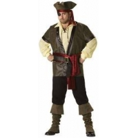 China Rustic Pirate Plus Size Adult Costume on sale