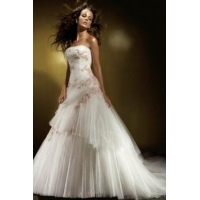 China Weddings Gowns Courthouse Wedding Sweetheart Neck Convertible on sale