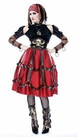 China Pirate Wench Steampunk Costume on sale