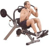 China Body Solid Recumbent Ab Bench GAB300 on sale