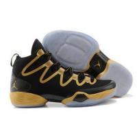 Air Jordan XX8 28 SE Black Gold Mens Platform Sneakers