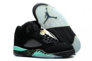 China Air Jordan 5 Wold Cup Black Green Mens Shoe Store on sale