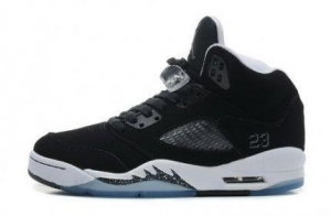 China Air Jordan 5 Retro Oreo Black Cool Grey White Womens Online Shoe Shopping on sale