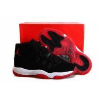 Air Jordan 11 Retro Black Red White Mens Limited Edition Sneakers