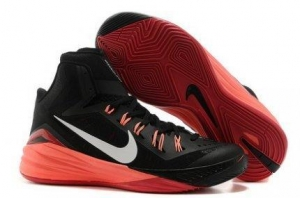 China A Successful Advertising Of Nike Hyperdunk 2014 XDR Black Burgundy Womens on sale