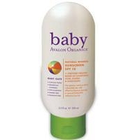 Baby Health Avalon Organics Natural Mineral Sunscreen SPF 18