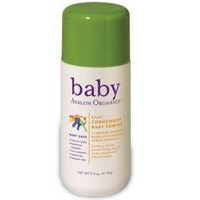 Baby Health Avalon Organics Silky Cornstarch Baby Powder 2.5 oz