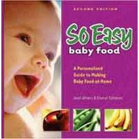 Baby Health So Easy Baby Food - Cook Book