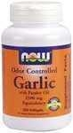 China Antioxidants Now Foods Odor Controlled Garlic 2500 mg - 250 Gels on sale