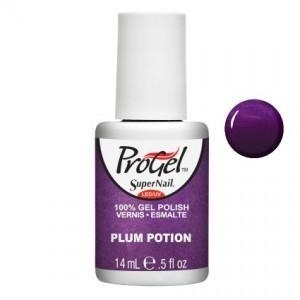 China SuperNail ProGel Polish - Plum Potion - 0.5oz / 14ml on sale