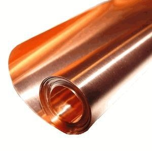 China Copper Sheets and Rolls 36 X 10' / 40 Mil (18 Gauge) Copper Sheet on sale