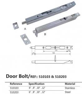 China Door Bolt on sale