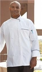 China Featured Products Luxembourg Elegant Chef Coat on sale