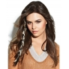 China Faux Fur Braid, Clip-In Hair Piece by Put On Pieces for sale