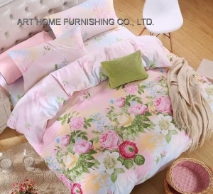 China Bedding Set PCD 4009cheap wholesale price bed sheet set on sale