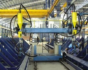 China H Beam Production Line (I Beam Welding Line) on sale