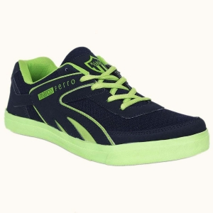 China Ballerinas Navy Green Men Casual Shoe on sale