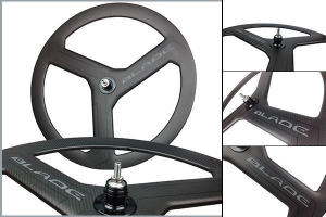 China Full carbon fiber good price carbon 3 spoke wheel on sale