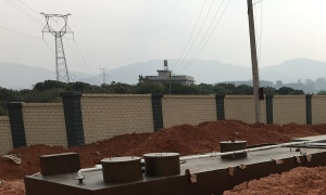China Integration of buried sewage treatment equipment on sale