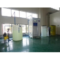 Split automatic sodium hypochlorite generator
